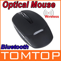 Wholesale Slim Bluetooth Wireless Optical Mouse For WIN XP Vista Wireless Mouse For Notebook Laptop PC Macbook Ultrabook
