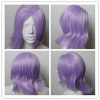 Wholesale Un go light purple fringe Synthetic Heat Resistance Cosplay Costume Wig