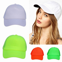 Wholesale New Unisex Cotton Candy colored Baseball Caps Outdoor Casual Cycling Sports Hats Colors Choose DWS