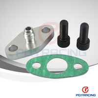Wholesale Turbo Oil Feed Inlet Flange Gasket Adapter Kit AN AN Fitting T3 T3 T4 T04