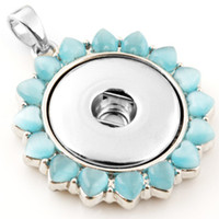 Wholesale A17044 newest stainless steel chain noosa pendent necklace noosa diy charms pendent