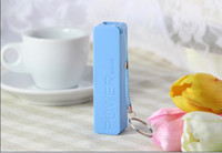 Wholesale 2600mAh USB External Backup Battery Power Bank for iPhone iPod Samsung HTC Emergency charger pc no retial package