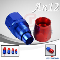 Wholesale 12AN AN straight SWIVEL OIL FUEL GAS LINE HOSE END FITTING ADAPTOR CUTTER STYLE