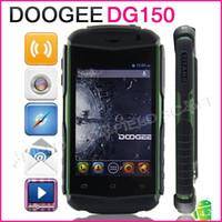 Wholesale Waterproof DOOGEE TITANS DG150 Inch IPS MTK6572 Dual Core Android Cell Phone M G MP G Android