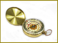 Wholesale New Arrival Classic Pocket Watch Style Bronzing Antique Camping Compass For Outdoor activities