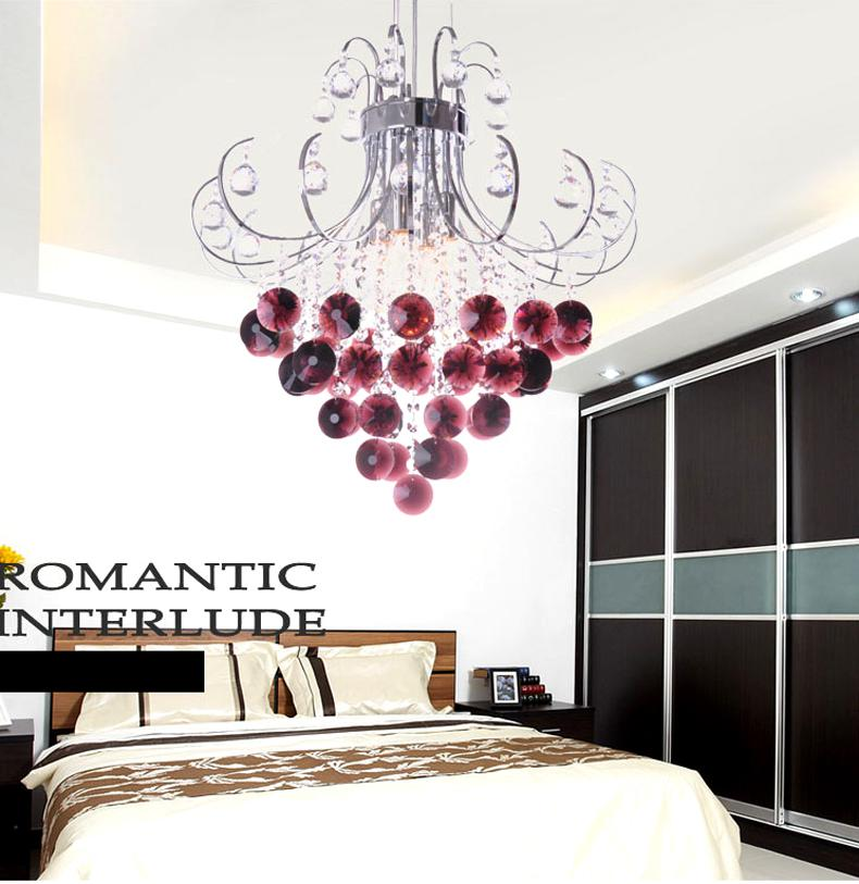 Modern Crystal Chandelier Lighting Fashionable Crystal Chandeliers – Purple Chandelier Lighting