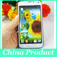 Wholesale S5 SM G900 Android KitKat inch Dual Core MTK6572 GB GB WiFi G WCDMA Single Micro Sim Card MP Camera