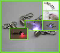 Wholesale 300Pcs Pet Dog Cat Flasher Blinker LED Light Tag Safety Pet Light P15