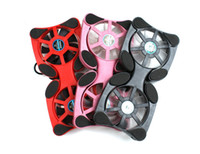 12-17inch USB Double Fans Octopus USB Plug Dual Cooling Fans Radiator For Laptop Notebook