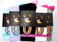 Socks Unisex Cotton Free shipping Hot Rare High Quality Thicken Version Odd Future Donut Socks For Hip Hop Girls Boys Golf Wang - HUF [ OO-MINT ]