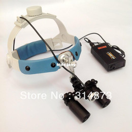 Wholesale 5X Headband Binocular Medical Surgical Loupes with LED Medical Headlight for Brain Surgery Vascular anastomosis operation Others