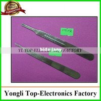 Wholesale 2pcs maintenance supplies stainless steel surgical knife handle large knife scalpel holder No No small knife YL4036