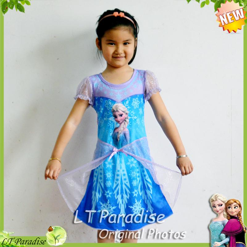 2017 2014 new girl dress fashion summer clothing for