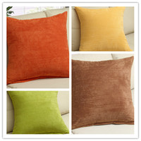 Wholesale New Sofa Pillow Office Pillow Corduroy Cushion Covers Fedex