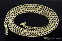 Wholesale K Mens mm Yellow Gold Diamond Cut Miami Pave Cuban Chain Necklace Inch