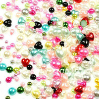 Wholesale 2 mm mixed size and color kawaii popular Best Hotsale flatback resin cabochons for DIY decorations
