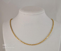 14k gold rope chain - GLEAMING K SOLID YELLOW GOLD HEAVY ROPE NECKLACE CHAIN quot AA