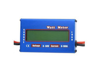 Wholesale Brand New Digital V A Battery Balance LCD Power Analyzer Watt Meter Freeshipping