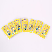 Wholesale Despicable Me d eyes Key chain keyring Keychains For Children Christmas Gift
