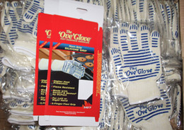 Wholesale Heat Resistant Ove Glove Hot Surface Handler Anti Steam OVE GLOVE With Non Slip Silicone Grip Men Edition