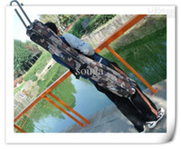 Wholesale high quality hot sale camouflage M fishing rod bag fishing gear tackle packages fittings bag
