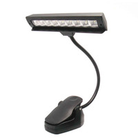 Wholesale Rechargeable Music Stand LED Light Lamp Clip on LED
