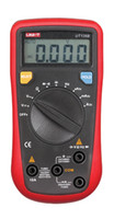 Wholesale UNI T UT136B2 quot LCD Digital Multimeter Red Black without batteries
