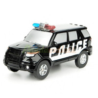 Wholesale Solar Energy Battery Power Police Car Educational Toy Color Assorted