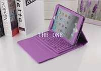 Wholesale Popular iPad Air wireless silicone bluetooth keyboard leather case ipad2 folio case for Apple iPad tablet inch hot selling products