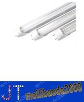 T8 18w SMD 3528 LED tube light lamp T8 SMD 3528 LED fluorescent tube light T8 AC85-265V SMD3528 288led 18W 1800lm 1.2M 1200mm 4FT free shipping MYY380