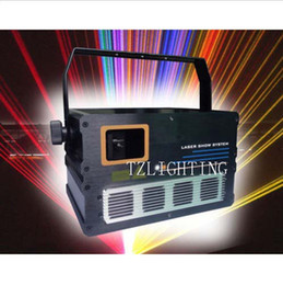 DMX512 American Club DJ Party Laser Stage Projector Light ILDA 1000mW RGB Laser Stage Lighting Full Color