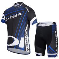 Wholesale orbea cycling team jersey new fashion custom made short sleeve bib pants tops jersey bike wear shorts bib sets