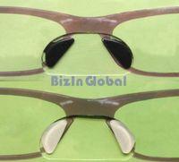 1000Pairs / серия Ясный / черный мягкой кремния ручки на носу колодки для очков Солнцезащитные очки нескользящей очки Аксессуары