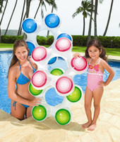 swimming ring pvc red, green, blue, yellow,etc Star Shape Pink Blue Green Water Safty Products Swim Set Children Swimming Ring 3pcs lot SW1408