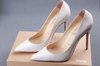 Wholesale Fashion Pointed Colors Wedding Shoes High heeled Shoes Bridal Shoes EM00538