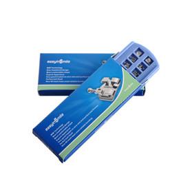 Expédier en Etats-Unis d'Amérique Expédition gratuite Dental Products 5 Packs MBT Metal MIM Orthodontic Bracket Braces 3,4,5 with Hook 0.018