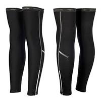 Wholesale 1 ROSWHEEL Lycra Cotton Thermal Fleece Leg Warmers Breathability Sportswear Cycling Legwarmers Winter Cycling Pants Legging Shorts