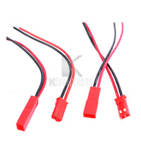 Wholesale 1 Pair Male Female JST Cable cm cm cm Cord Connector Adapter Plug RC Parts mm mm mm Free DHL