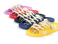 plastic slippers - new fashion One Piece summer anime luffy plastic slippers beach shoes flip flops imitation of straw sandals
