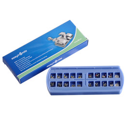 Wholesale Ship from USA Dental Products Packs MBT MIM Technology Orthodontic Bracket Braces with hook drop shipping