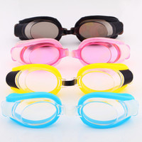 Wholesale Cheap Color Junior Swim Goggles Water Sport Eyewear Diving Goggles for Children and Adults SW1409