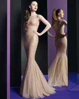 Cheap Reference Images Evening Dresses Gowns2014 Best Jewel/Bateau Chiffon Evening Prom Dress2014