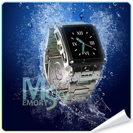 Wholesale W818 Waterproof Watch Phone Stainless Steel Waterproof Watch Mobile Phone Single Sim Water Proof Grade IP67 watches men