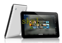 Wholesale 10 inch Allwinner Dual Core Bluetooth Android Tablet PC GB DDR3 GB Wifi Dual camera Skype Youtube Inch top cheap
