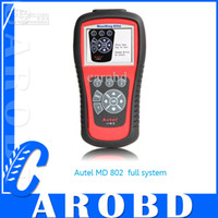 Code Reader asia and australia - Autel Maxidiag MD802 autel md802 code scanner for full system airbag scanner all systems for Australia Europe Asia and America Vehicles