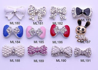 Wholesale Nail Art Rhinestones Metal Nail Decoration D Rhinestone Charm Styles