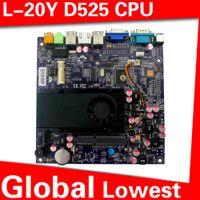 pc motherboard - In Stock XCY L Y pc motherboard Intel atom D525 Desktop Board Micro pc motherboard
