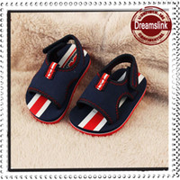 Unisex ankle walker - Beach Sandals Kids Casual Shoes Fashion First Walking Shoes Children Footwear Toddler Dark Blue Shoes Boy Sandals Baby First Walker Shoes
