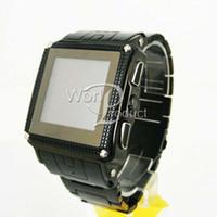 Wholesale 1 quot W818 Waterproof Watch Phone Quad Band Single SIM Touch Screen FM MP3 MP4 Camera Bluetooth
