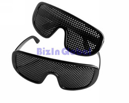Wholesale Hot sale high quality Pinhole Glasses Pin hole Eyes Glasses Eyewear Activate your natural vision